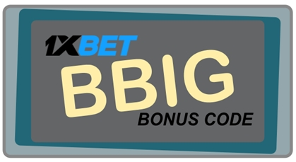 1xBet Casino Bonus Codes Illustration in groß