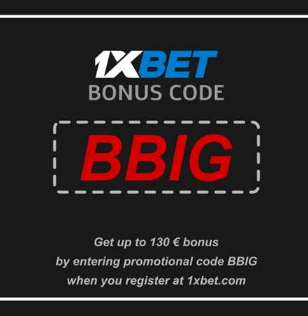 Illustration of Casino registration code 1xbet in big format