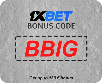 1xbet No Deposit Bonus Code Enter The Code 1xbig