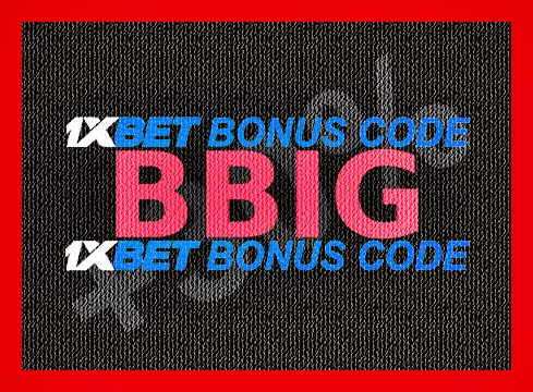 Illustration of 1xbet 1xgames bonus in big format
