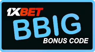 Illustration of 1xbet promo code New Zealand in big format