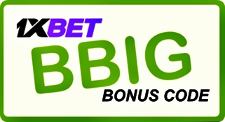 Illustration of A voucher code for 1xbet.com in big format