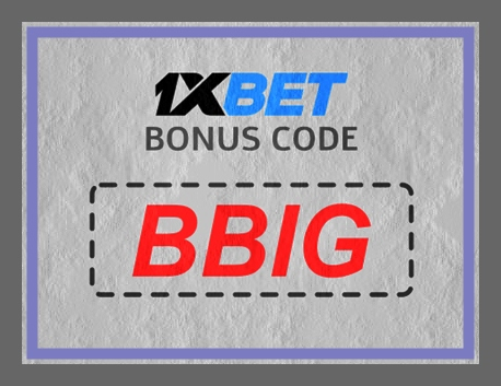 Illustration of 1xbet Friday bonus in big format