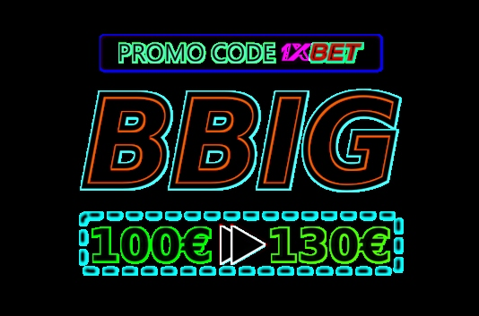 Illustration of Promo code for 1xbet Tanzania in big format