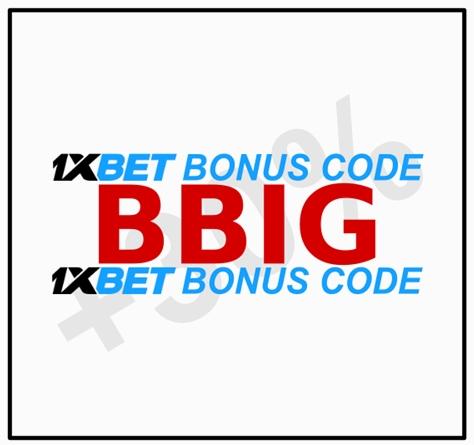 Illustration of 1xbet sport bonus rules in big format