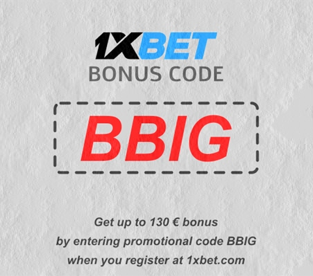 Illustration of Promo code 1xbet for Cameroonians in big format