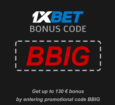 Illustration of Welcome bonus to the eSport at 1xbet in big format
