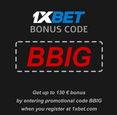 Illustration of How to use a promo code with 1xbet? in big format