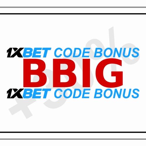 Illustration de 1xbet bonus code en grand