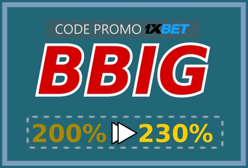 Illustration de 1xbet casino bonus codes en grand