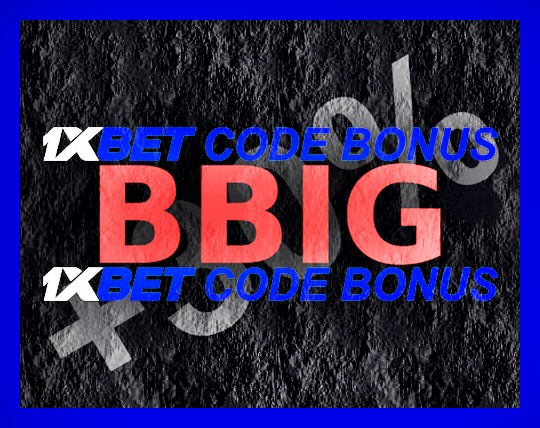 Illustration de 1xbet code SMS en grand