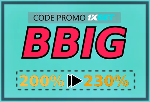Illustration de 1xbet mobile code promo en grand