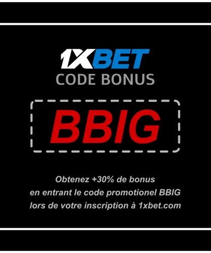 Illustration de 1xbet bonus du vendredi en grand