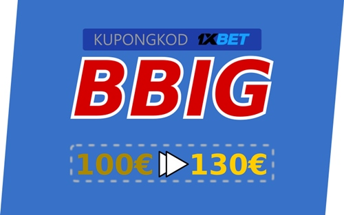 1xbet bonus illustration i stort
