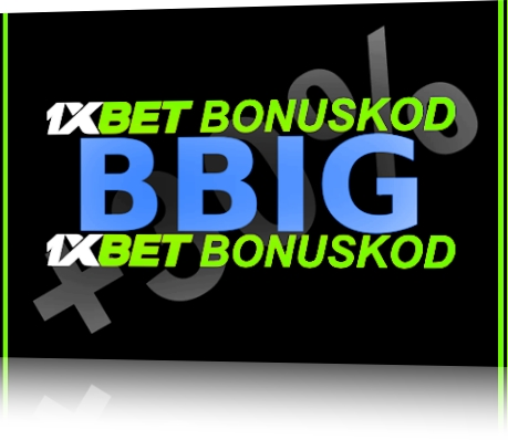 1xbet rabattkupong illustration i stort