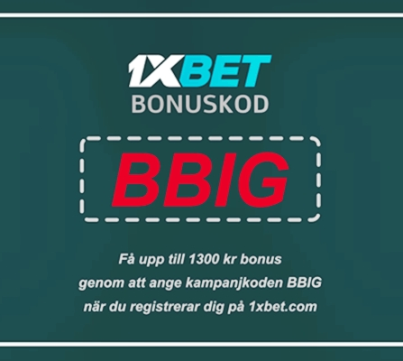 1xbet 1xgames bonus illustration i stort